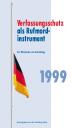 Verfassungsschutz 1999 - Titel